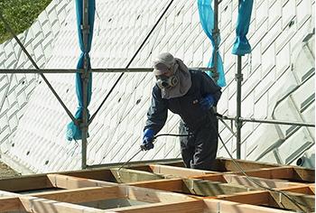 photo:土台工事